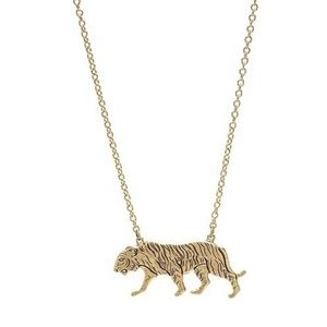 GOLD TIGER NECKLACE NWT